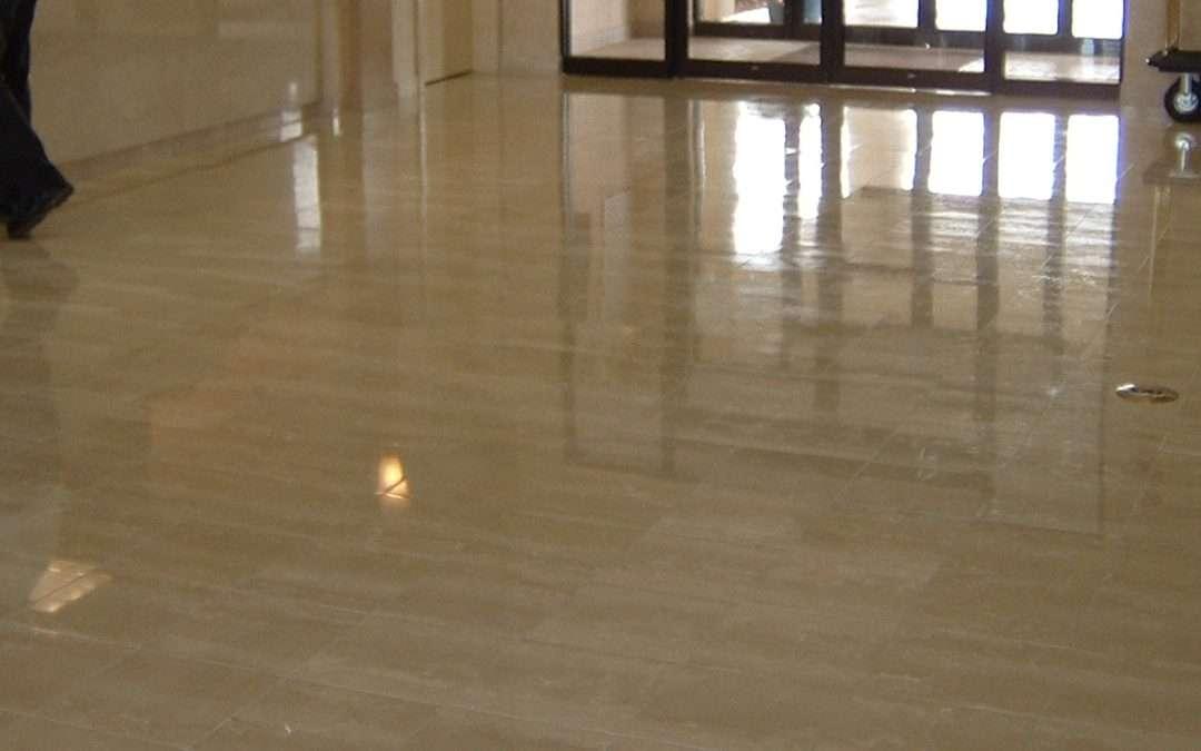 Hotel Travertine Floor Refinishing MA