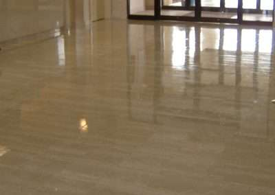 Hotel Travertine Floor Refinishing MA