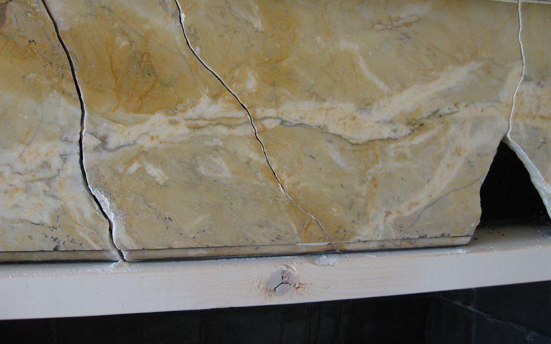 Marble Fireplace Repair