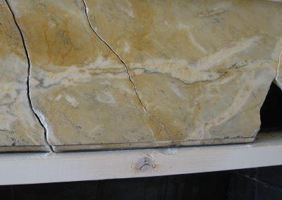 Marble Fireplace Repair