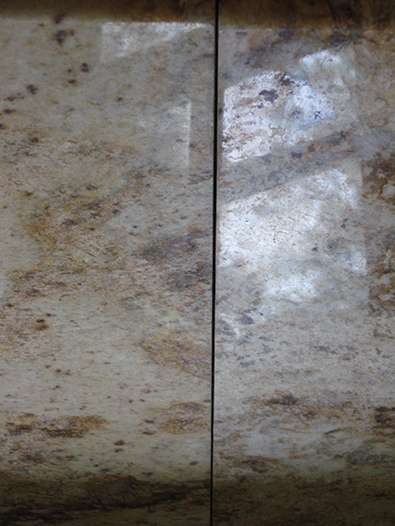 Damaged Granite Countertop Seam