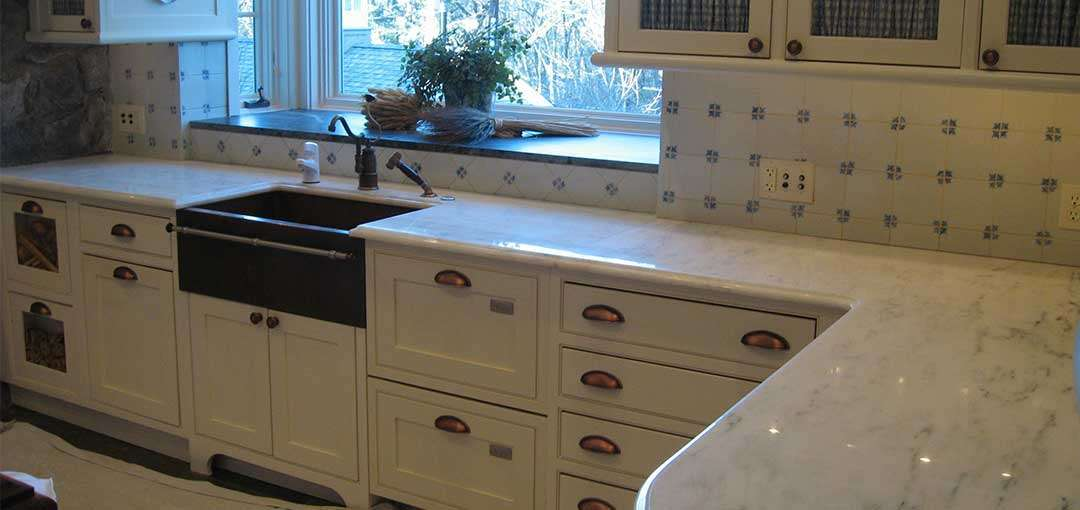 Marble Countertop Refinishing Service Brookline, MA